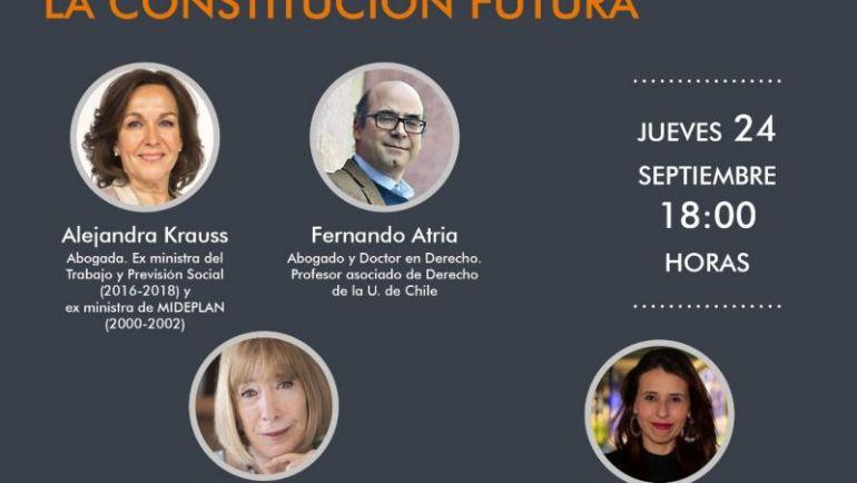 La 3a jornada del ciclo Diálogos Constituyentes analizará los cuestionamientos a la Constitución y el modelo que fomenta