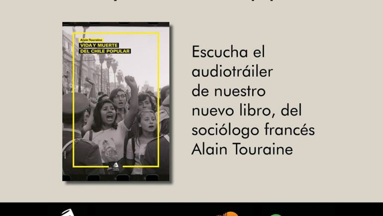 Editorial USACH estrena novedoso formato de tráileres de libros en audio
