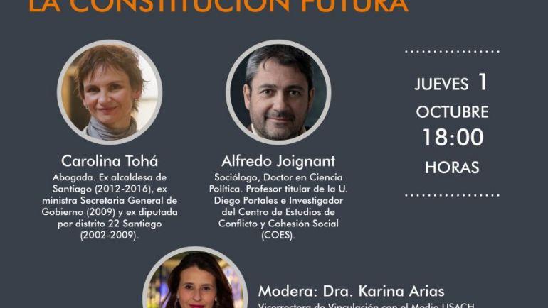 Ciclo Diálogos Constituyentes finaliza con un análisis desde el malestar social hasta las expresiones de violencia