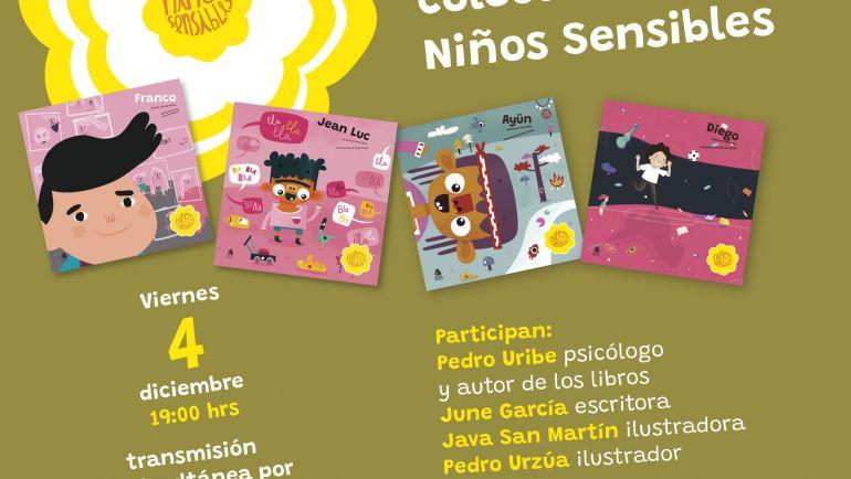 Editorial USACH lanza nueva colección infantil con perspectiva de género